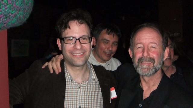 Neil Schneider (L), David Traub (R), Alan Price (Middle)