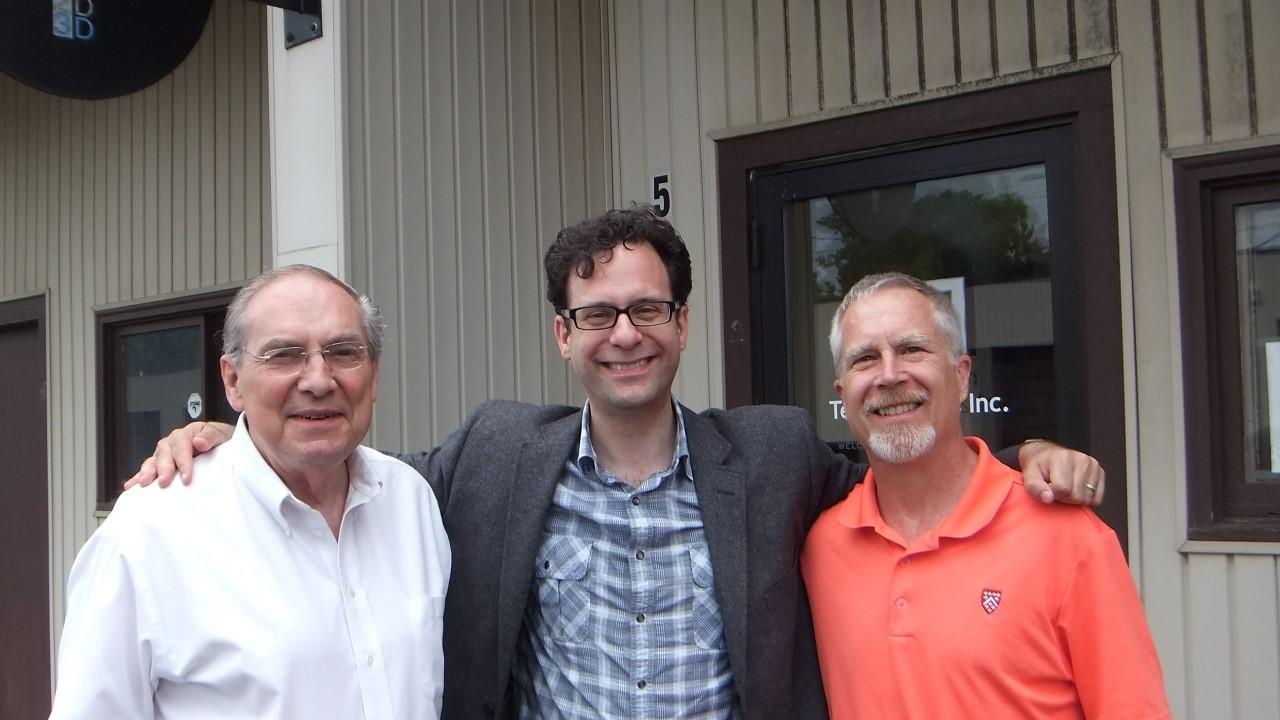 Arnold Lagergren (CEO), Neil Schneider (ITA), Tom Curtin (Dir. Business Development)