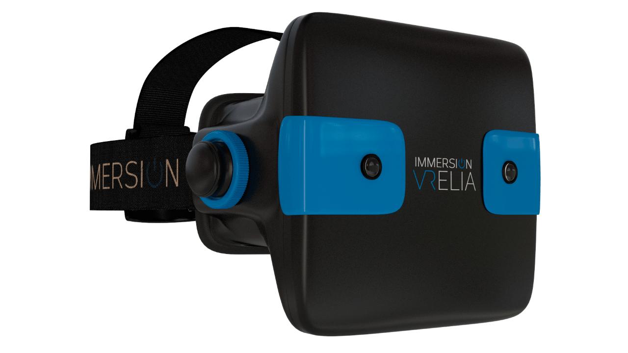 Immersion VRelia HMD