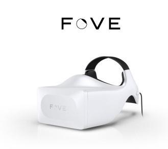 FOVE still logo white F