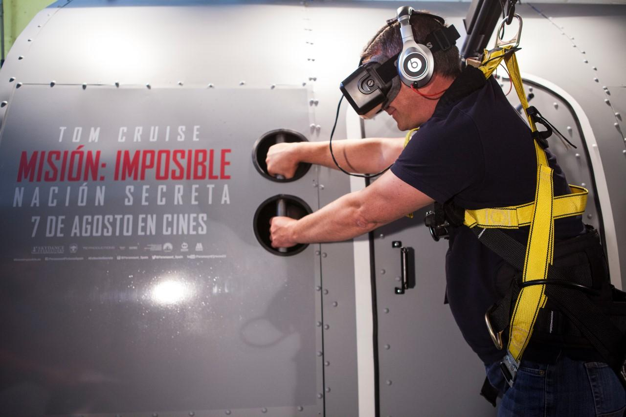 Mission Impossible 5 in VR!
