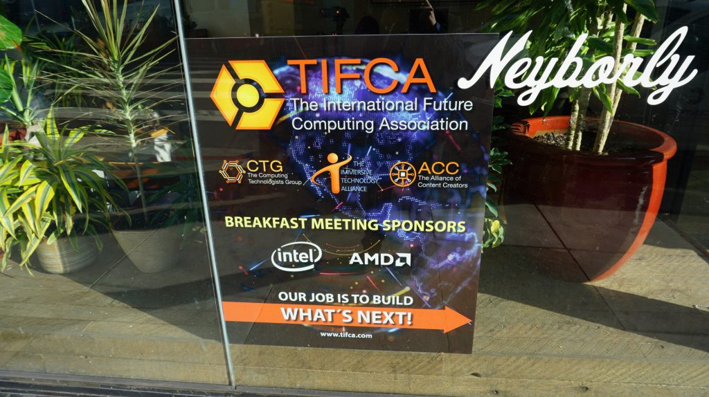TIFCA ecosystem gathering held during the 2019 Game Developers Conference.